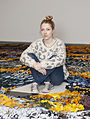 Artist Jenni Hiltunen in Kiasma.jpg