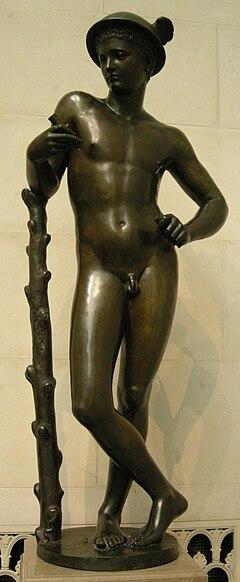 Artista italiano del XVI sec., mercurio