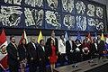 Asambleístas de Ecuador junto con la delegaciones de Argentina, Chile y Surinam en la instalación de la Mesa de Diálogo en la Sede de UNASUR (Mitad del Mundo) (16914209290).jpg