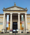 Entrance to the Ashmolean Museum