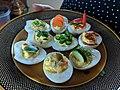 Assortment of Homemade Contemporary Deviled Eggs.jpg