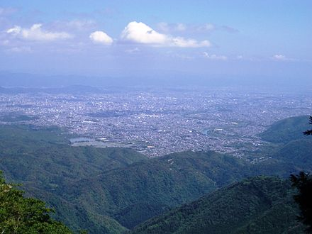 Kyoto seen from Mount Atago in the northwest corner of the city Atago07.JPG