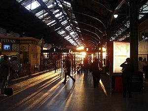 Retiro Belgrano railway station - Image: Atardecer en Retiro Belgrano