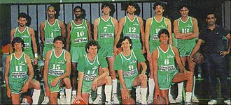 Asociación Deportiva Atenas - The 1987 roster that won the first title for the club