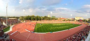 Athletics at the 2015 Pan American Games - The CIBC Pan Am and Parapan Am Athletics Stadium hosted the track and field competitions