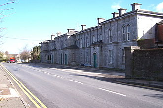 Athlone railway station - The old MGWR station