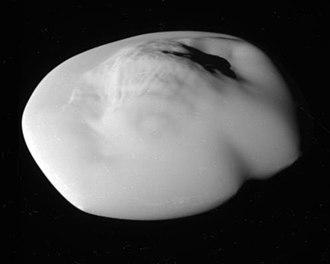Atlas (moon) - Photo taken by Cassini on 12 April 2017