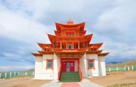 Atsaysky datsan in Buryatia, Selenga area 2