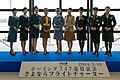 Attendants of ANA B747 Sayonara Flight Charter in 16 Mar 2014.jpg