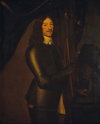 James Graham, 1st Marquess of Montrose - Portrait attributed to Willem van Honthorst