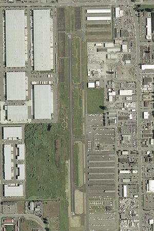 Auburn Municipal Airport (Washington) - Image: Auburn Municipal Airport S50