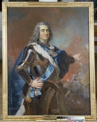 Louis de Silvestre: August II the Strong, 1670-1733, elector of Saxony, king of Poland
