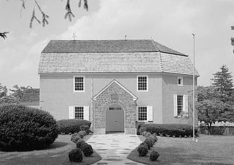 National Register of Historic Places listings in Montgomery County, Pennsylvania - Image: Augustus Lutheran Church, 717 West Main Street, Trappe (Montgomery County, Pennsylvaina)