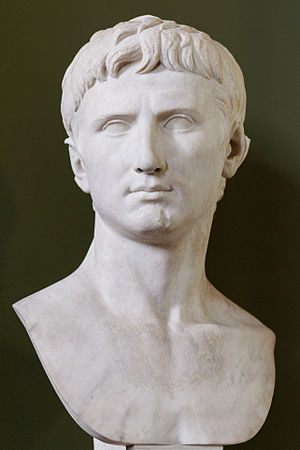 Bust of Augustus of the Prima Porta type. Roma...