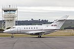 Australian Corporates Jet Centre (VH-OFJ) Hawker 800XP at Wagga Wagga Airport.jpg