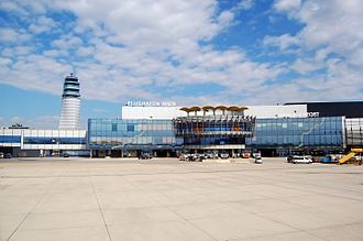 Vienna International Airport - View of the airport