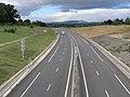 Autoroute A406 vue depuis Pont Route D1079 Crottet 8.jpg