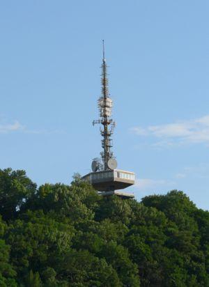 Miskolc-Avas TV Tower - The tower