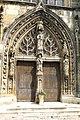 Avenay-Val-d'Or, church Saint Trésain, portal.JPG