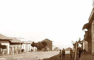 Pichilemu - Daniel Ortúzar Avenue, in 1925.