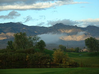 Laughlin, Nevada - Avi Resort and Casino Golf Course in Laughlin in 2007