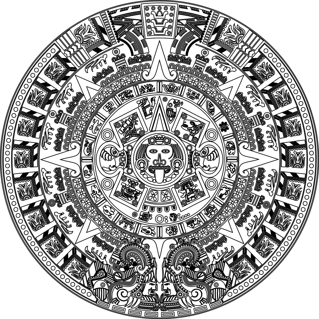 File:Aztec calender joined vectorsdxf 2000.png - Wikimedia