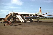 BEA Viscount airliner at Nutts Corner Airport - geograph.org.uk - 506949