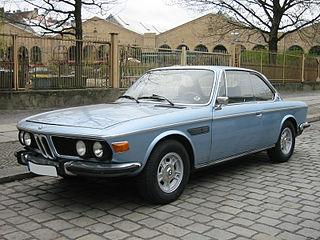 BMW E9 Motor vehicle platform