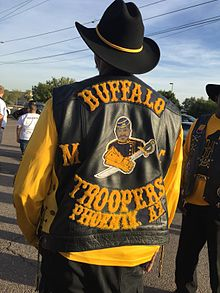 919bcb2e The Buffalo Soldiers Motorcycle Club (NABSMC) is a Black (African-American)  motorcycle club in the United States, named for the historic African- American ...