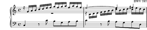 Inventions and Sinfonias (Bach) - Image: BWV 787 Incipit