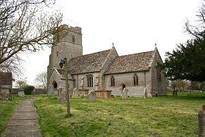 Babcary - Image: Babcary Church