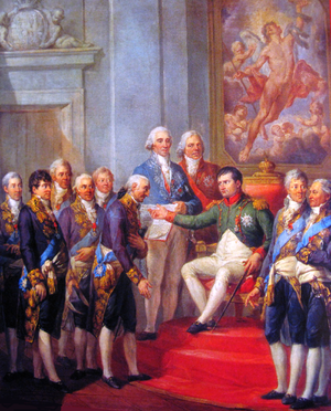 Constitution of the Duchy of Warsaw - Image: Bacciarelli Granting of the Constitution