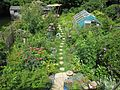 Back garden aerial view - Flickr - peganum.jpg