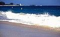 Bahamas 1988 (261) Paradise Island Paradise Beach Hog Island Lighthouse (23457385093).jpg