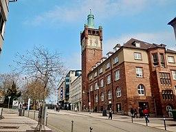 Bahnhofstraße in Pforzheim