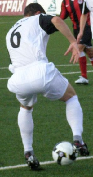 Chris Baird - Baird in action for the club in 2010.