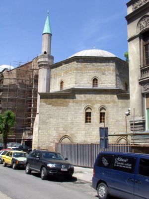 Islam in Serbia - Bajrakli Mosque in Belgrade