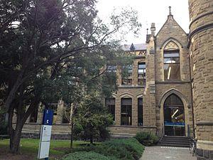 Baldwin Spencer Building - Image: Baldwin Spencer Building Front View