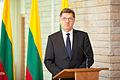 Baltijas Ministru padomes neformālajā darba sesijā tiekas Latvijas, Lietuvas un Igaunijas premjerministri (8889486935).jpg