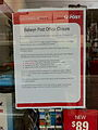Balwyn Post Office Closure 2011.JPG