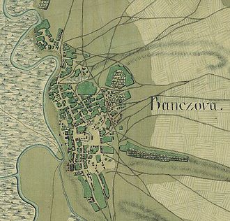 Pančevo - National Archives of Austria, Map of Josephinian Land Survey (1769-1772), city without still existing fortification