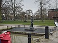 Bancroft Basin - Stratford-upon-Avon - Statue of Hermaphroditus (3).jpg