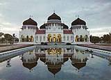 Banda Aceh's Grand Mosque, Indonesia