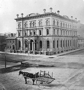 Bank of Toronto - Image: Bank of Toronto 1868
