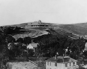 Fort Moore - Image: Banning House on Fort Moore Hill 1887