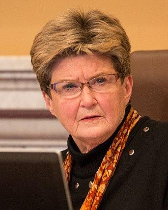 2017 Minneapolis City Council election - Image: Barb Johnson, Minneapolis City Council President (23462025700) (cropped)