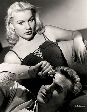 Trapped (1949 film) - Barbara Payton and Lloyd Bridges in Trapped