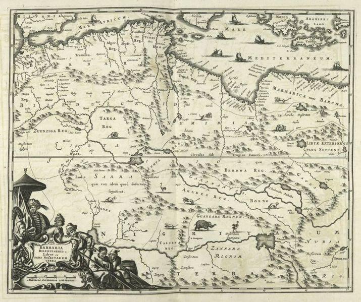 File:Barbaria Biledulgered o - Libye et pars Nigritarum Terra map.jpg