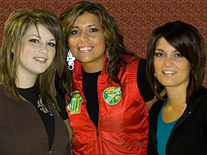BarlowGirl - BarlowGirl members from left to right: Lauren, Rebecca and Alyssa.