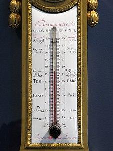 Baromètre - thermomètre (Louvre, OA 10545) - Détail du thermomètre.jpg